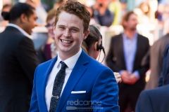 """Evan Marsh on the Red Carpet at TIFF 2016 for the premiere of """"The Journey is the Destination"""""""