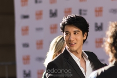 """Leehom Wang at TIFF 2016 walking the Red Carpet before the screening of """"Leehom Wang's Open Fire Concert Film""""."""
